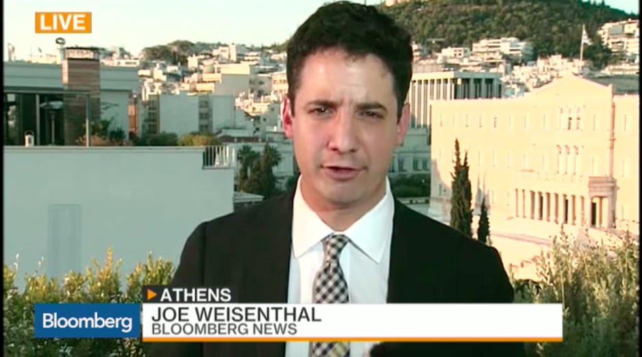 Bloomberg's Joe Weisenthal (via Bloomberg.com)