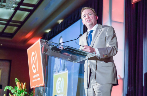 Mick Mulvaney at Coin Center Annual Dinner, 2016