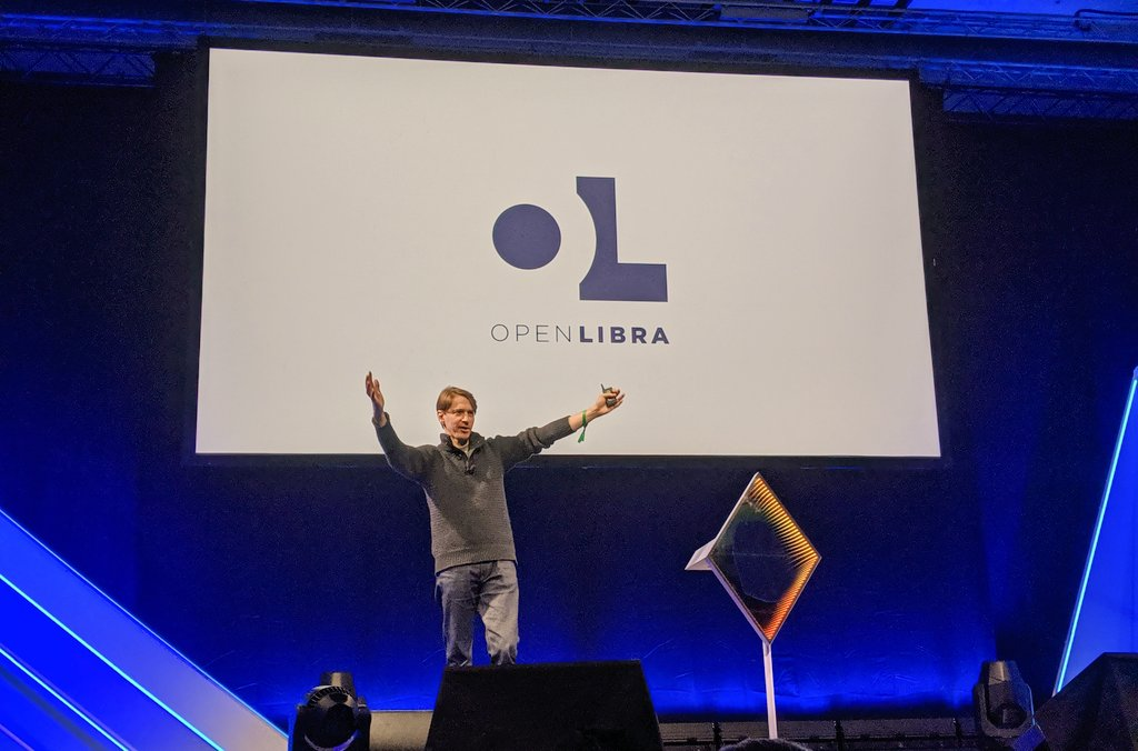 "Lucas Geiger said OpenLibra is going to hijack Libra, but in a ""non-adversarial"" way (Lane Rettig, via Twitter)."